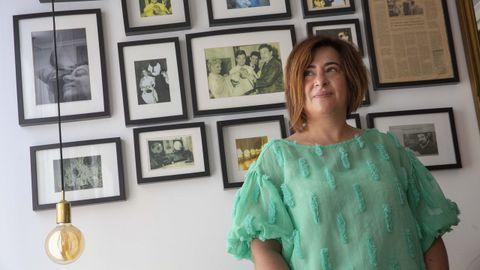 Paula Sánchez lleva desde el 2012, año en el que se jubiló su padre, la peluquería