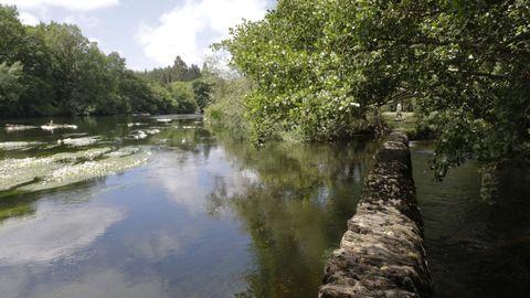 A Tolda, a los pies de Lugo, cuenta con una amplia zona fluvial