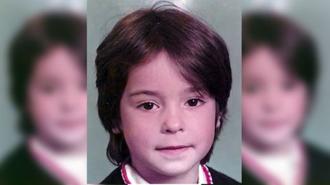 Kris Fernández, fundadora de la escuela de baile Media Punta, en una imagen de niña