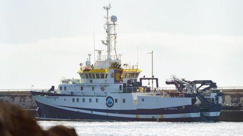 El buque oceanográfico gallego Ángeles Alvariño, con base en Vigo, ha regresado al Puerto de Santa Cruz de Tenerife por cuestiones técnicas.