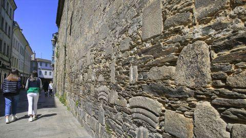 La fachada de Clérigos se cubrirá con mortero, salvo un zócalo
