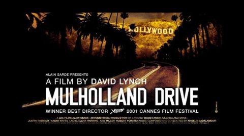 Cartel de la película Mulholland drive, de David Lynch