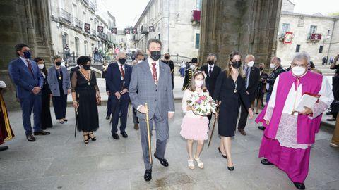 Entrada na catedral de Lugo