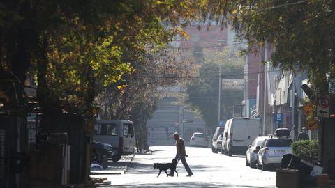 Santiago de Chile ha iniciado un confinamiento indefinido
