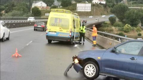 Accidente de tráfico en Ourense