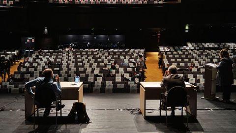 Pleno del Concello de Ourense en el Auditorio