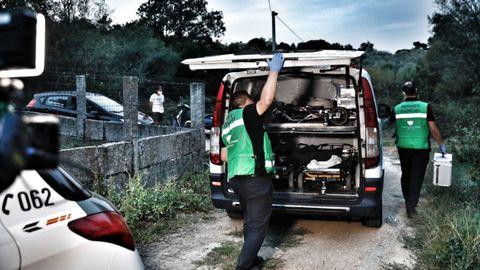 En septiembre del pasado año, el cadáver de Nerea Añel apareció en una aldea abandonada de Barbadás
