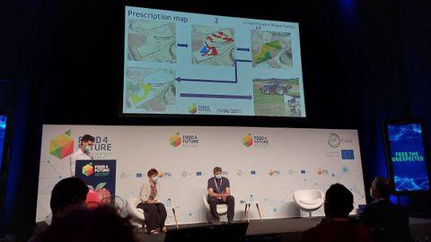 Presentación de las distintas zonas en las que se divididió la finca experimental en función de la producción