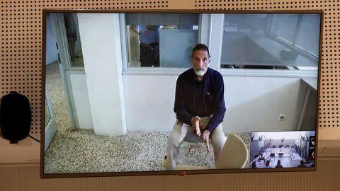 John McAfee, en una declaración judicial por videoconferencia desde la prisión