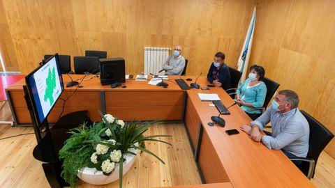 La primera presentación, también telemática, tuvo lugar a finales de septiembre del año pasado