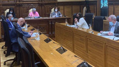 Sesión parlamentaria del mes de junio en Gijón