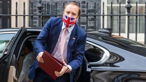 El ministro de Sanidad británico, Matt Hancock, el pasado 27 mayo.
