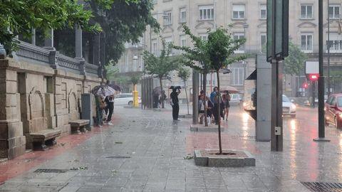 Tormenta en Ourense