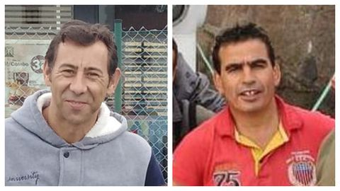 Kiko Betanzos y Abdelkabir Aniba, tripulantes del Sempre Güeto