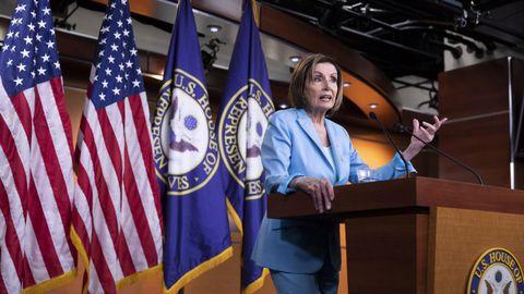 Nancy Pelosi, celebró la historica decisión del Supremo «que protegerá a millones de ciudadanos».