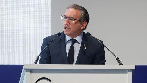 El consejero de Economía de Cataluña, Jaume Giró