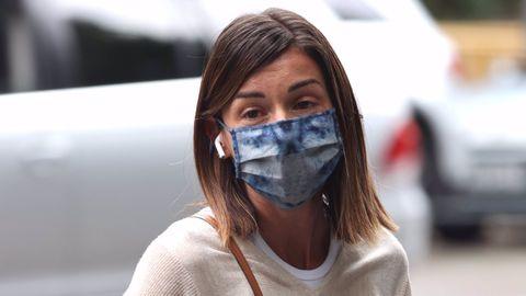 Alba Santana ha viajado a Madrid para acompañar a su madre