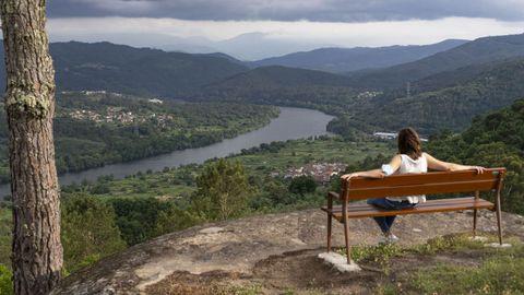 Miradoiro da A Franqueirán, en Ribadavia.