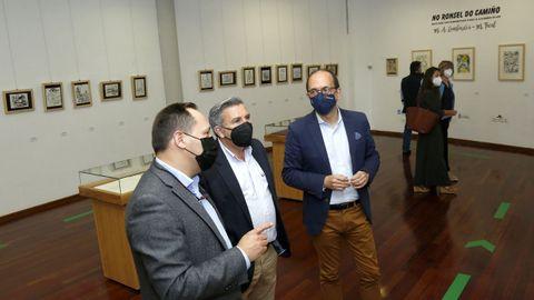 Inauguración exposición  No ronsel do Camiño