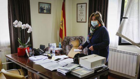 Teresa Barge, alcaldesa de A Bola