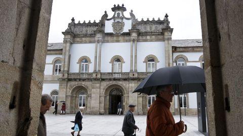 La Diputación de Lugo hará un cribado a ocho de sus trabajadores