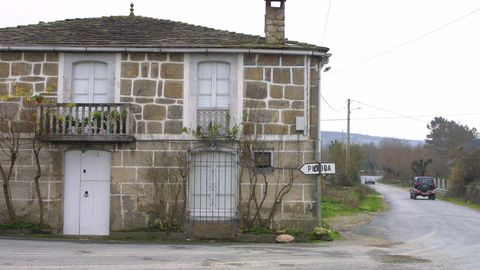 El núcleo del concello de O Páramo, uno de los municipios sin sucursal bancaria