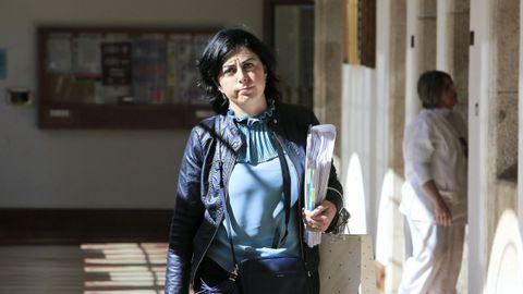 Elena Candia en una foto de archivo
