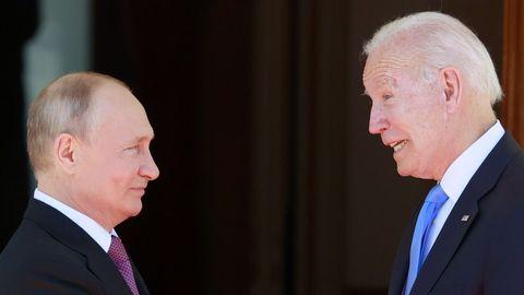 Putin y Biden, durante su cumbre en Ginebra el pasado 16 de junio.