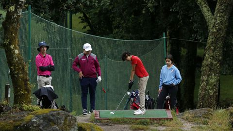 La cita reunió a 115 golfistas en las instalaciones de Barbanza Golf