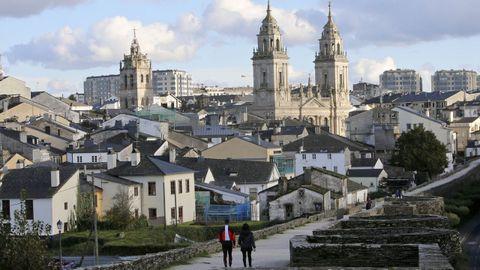 Barrio de A Tinería, en Lugo, donde la Xunta desarrolla un proyecto de rehabilitación integral
