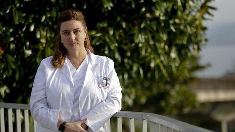 Margarita Poza, microbióloga del Inibic (Chuac) y coordinadora del proyecto CovidBens