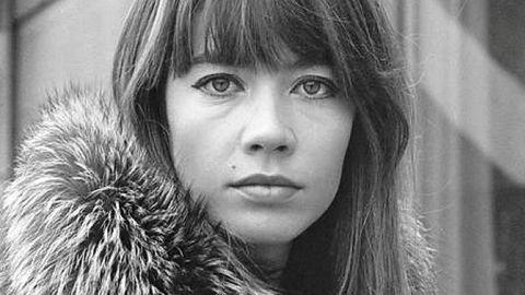 Francoise Hardy en una imagen de los años 60