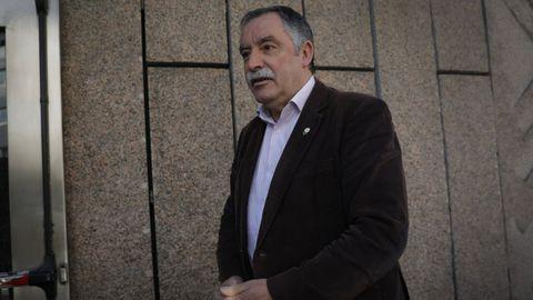El alcalde de Oleiros, Ángel García Seoane