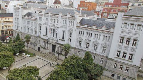 Sede del Tribunal Superior de Xustiza, en A Coruña.