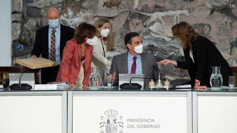 Imagen de archivo de un Consejo de Ministros