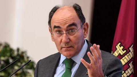 Ignacio Sánchez Galán, en una imagen de mayo del 2021