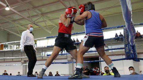 Velada de boxeo Cidade de Ribeira