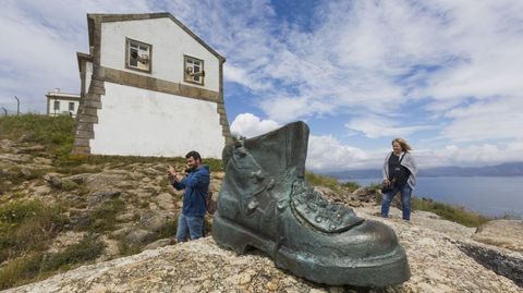 El faro de Fisterra es uno de los puntos más visitados de la comarca