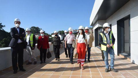 La futura comisaría de Ribeira se ubica en un terreno de 2.100 metros cuadrados