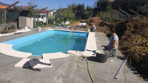 En los últimos meses se ha solicitado permiso para instalar una veintena de piscinas en el municipio pobrense