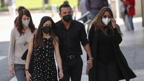 Antonio Rossi llega al velatorio de Mila Ximénez