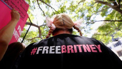 Manifestación en apoyo a Britney Spears