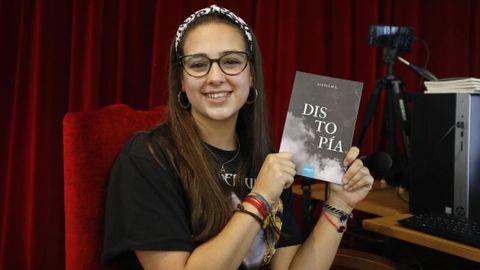 Alexia Moreiras, alumna ourensana del IES 12 de Outubro