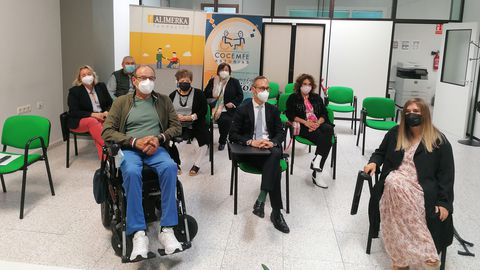 Las siete entidades beneficiarias participaron esta mañana en un acto para escenificar este compromiso adquirido y reforzado año tras año por la Fundación Alimerka
