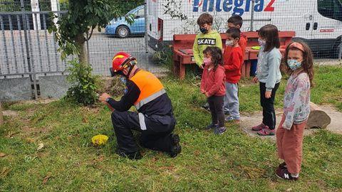 Voluntarios de Protección Civil de Valdoviño llevaron a cabo una intensa campaña de trampeo