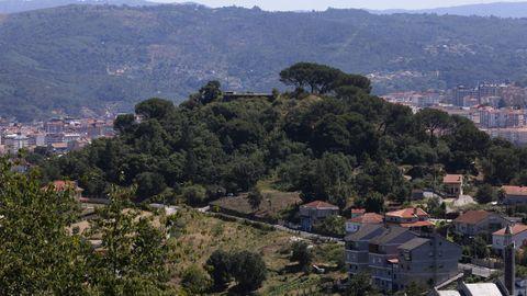 El antiguo asentamiento del Castelo Ramiro, cerca de Cabeza de Vaca
