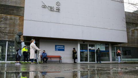 Cribado en el centro de salud de Sarria, en una imagen de archivo