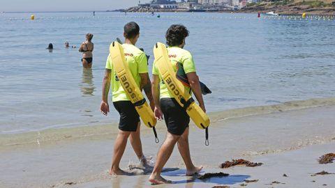 Playa de Silgar en Sanxenxo