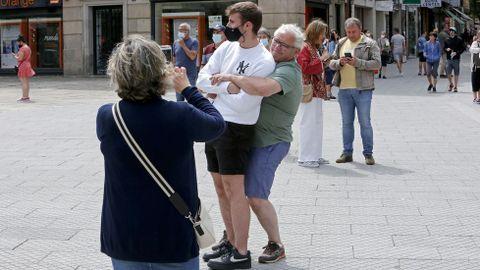 Sin mascarillas obligatorias al aire libre en Pontevedra