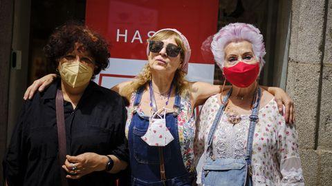 Sin mascarilla en Ourense